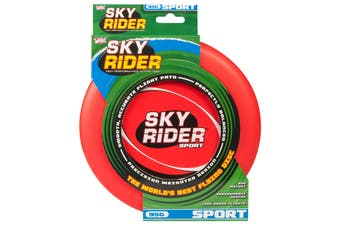 Wicked Sky Rider Sport Frisbee Flying Disc Beach Toy Fun Game RED