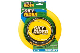 Wicked Sky Rider Sport Frisbee Flying Disc Beach Toy Fun Game YELLOW