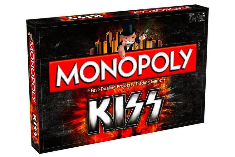 KISS Band Monopoly Family Board Game