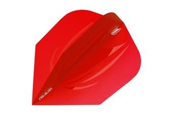 Target ID Pro Ultra Flight Dart Flights - RED