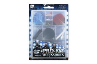 Target Darts Accessories Kit Dart Vision Pro Grip Stems Flights Springs Rings Tool