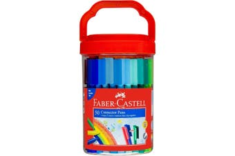 FABER-CASTELL Connector Pen Tub of 50