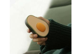 Brand New Avocado Design Electric Rechargeable Hand Warmer For Gift (Avocado Green)