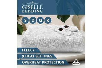 Giselle Fitted Electric Blanket Heated Fleecy Pad Cover