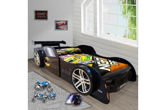 Bat Man Special Edition for Kids Racing Racer Night Bed Single Size