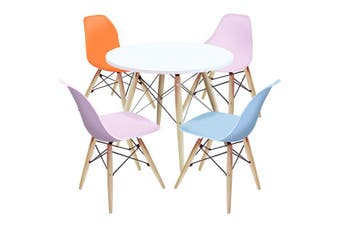 Kids Table and Chairs Package -1 x Round Table 4 x P P O B Chairs