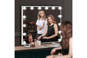 Maxkon Hollywood Makeup Wall Mirror Vanity 14 LED Light Bulbs Touch Control
