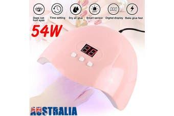 SUN X5Plus Nail Lamp UV LED Light Nail Art Dryer Gel Polish Curing Machine (54W )