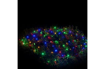 3M x 3M 300LED Solar Net Wedding Party Light Christmas Light(MULTI COLOUR)