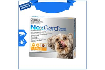 Nexgard Nexguard for Dogs flea and tick treatment 6 Chews All sizes