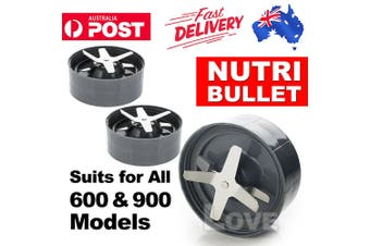 For Nutribullet Extractor Blade Cross Nutri Bullet 600 900 Pro 900W Replacement(2pc)
