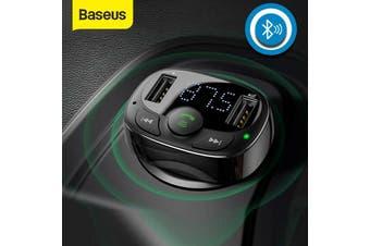 Baseus Handsfree FM Transmitter Wireless Bluetooth Car Kit MP3 Adapter Charger