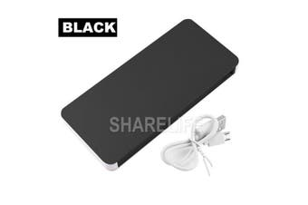 50000mAh External Power Bank Dual USB Portable Battery Charger For Mobile Phone(Black)