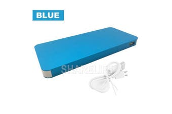 50000mAh External Power Bank Dual USB Portable Battery Charger For Mobile Phone(Blue)