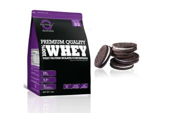 1KG - WHEY PROTEIN ISOLATE / CONCENTRATE - WPI WPC POWDER- Choose Flavour(Cookies&Cream)