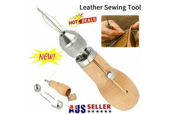 Speedy Stitcher Sewing Awl Tools Kit for Leather Sail & Canvas Heavy Repair HA