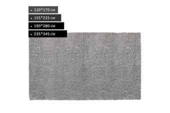 OliandOla Plush Tufted Shag Rug - Light Grey(225 x 155 cm)
