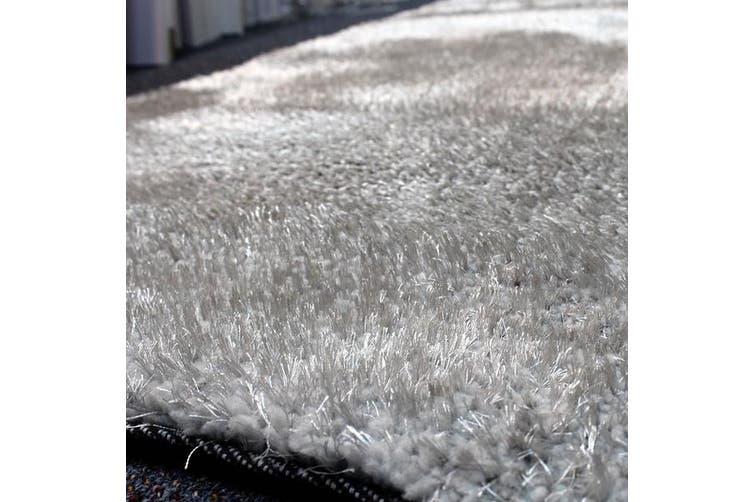 OliandOla Plush Tufted Shag Rug - Light Grey(225 x 155 cm)