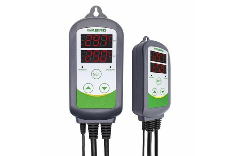 240V ITC-308 Digital Beer Fridge Temperature Controller thermostat temp heaters