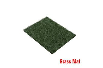 Dog Toilet Pet Training Indoor Portable 1/2/4 Grass Mat Potty Optional