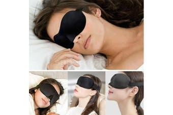 Travel Sleep Eye Mask Soft Memory Foam Padded Shade Cover Sleeping Blindfold