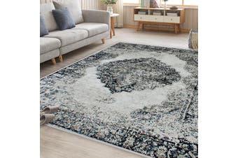 OliandOla Black Cream Namibia Vintage-Style Floor Area Traditional Soft Rug Carpet