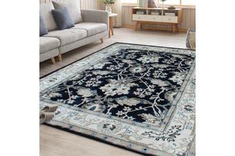 OliandOla Blue Persian Style Floor Area Traditional Soft Rug Carpet