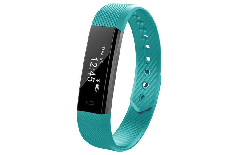 Fitness Smart Green Watch With Heart Rate Monitor