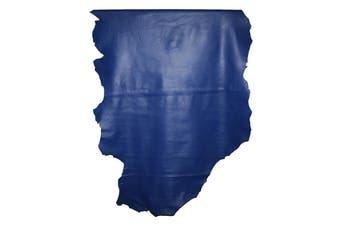 9sqft - 9.9sqft AAA Top Grade Royal Blue Nappa Lambskin Leather Hide