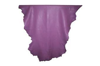 12sqft - 12.9sqft AAA Top Grade Lilac Nappa Lambskin Leather Hide