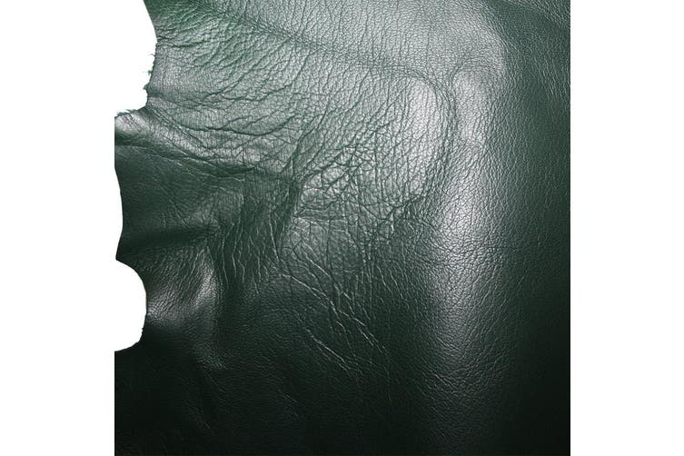 12sqft - 12.9sqft AAA Top Grade Green Nappa Lambskin Leather Hide