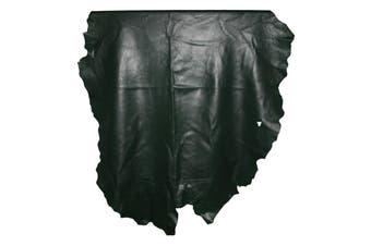 8sqft - 8.9sqft AAA Top Grade Green Nappa Lambskin Leather Hide