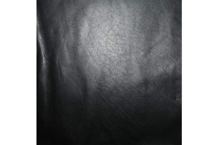 7sqft - 7.9sqft AAA Top Grade Black Nappa Lambskin Leather Hide