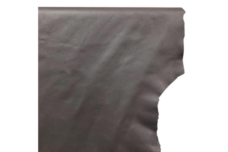 7sqft - 7.9sqft AAA Top Grade Grey Nappa Lambskin Leather Hide