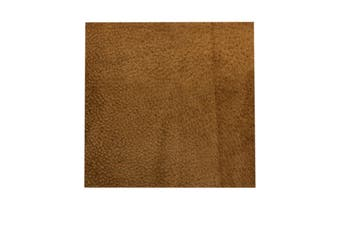 15cm x 15cm Caramel Square Split Leather Suede Piece, Remnant Skin, Crafts, Jewellery Making, Embroidery, Sewing