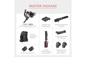 Zhiyun Crane 3 LAB DSLR Camera Gimbal - Master Package