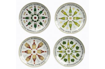 BIA Wine Cellar Plates Set of 4