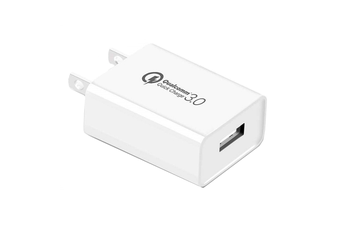 Qualcomm 3.0 Quick Charge 18W Power Plug ideal for Multi Device Units