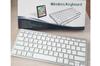 Gift Pack - Wireless Bluetooth Keyboard Plus Wireless Mini Earphones with Wireless Charging Case