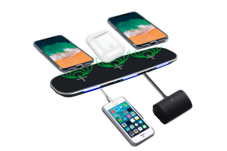3PLUS2 Family Charging Station for up to 5 Devices