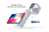 Orotec NexGen Dual Wireless Charging Dock Made for Apple (including iWatch) WHITE