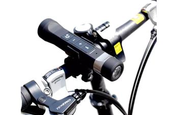 Bike Mate Multi Function Bluetooth Speaker, Powerbank. LED Light and Hands-Free Phone Speaker