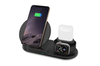 3-in-1 Fast Charge Wireless Charger Station (BLACK)