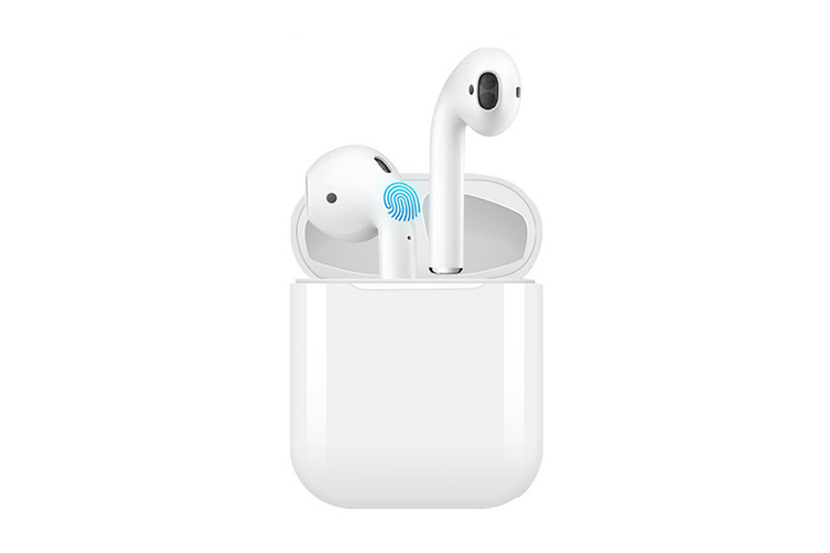 Bluetooth Mini Earphones with Wireless Charging Case