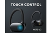 METZ New X12 High Performance Wireless Bluetooth Earphones with Charging Case (BLACK)