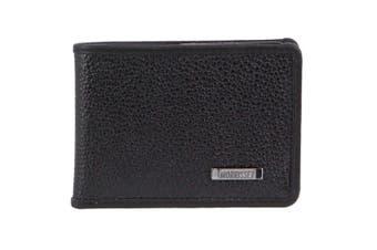 Morrissey Italian Leather Mens Wallet (MO3073)-Black