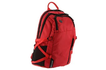 Pierre Cardin Adventure Nylon Backpack (PC3067)-Red