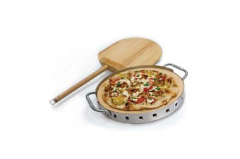 Broil King Pro Pizza Stone W/SS Support