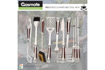Gasmate 11 Piece Ultimate Premium BBQ Tool Kit