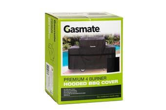 Gasmate 4 Burner Hooded BBQ Cover - Premium BAC843 4 burner